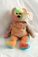 Ty Beanie Baby, Peace Bear | Vintage 1996 | Collectable | MWMT | Many Tag Errors