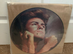 """George Michael - Carless Whisiper 12"""" RARE UK PICTURE DISC"""