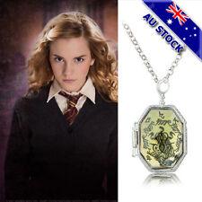Unisex Harry Potter Philosopher's Stone Seal Soul Locket Pendant Box Necklace