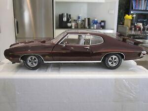 1/18 ACME A1801203 1970 PONTIAC GTO JUDGE BURGUNDY *NEW* 1 OF 870
