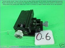 Chuo Seiki Rx Xy Linear Stage Positioner Manual Stage Xy Axistravel 75mm A
