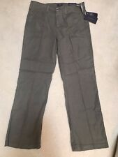 NWT NYDJ Not Your Daughters Jeans DKOLI DARK OLIVE GREEN Trouser $114 Size 2P