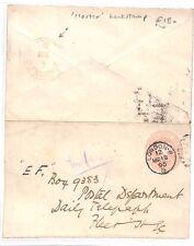 Bg137 1890 Gb London Pink Stationery *Hoster* Backstamp