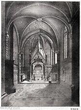 NAPOLI CAPITALE: Cappella Capece Minutolo,nel Duomo.Regno delle Due Sicilie.1844