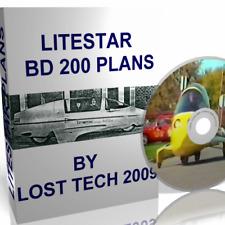 Build Your Own Bd-200 Litestar Autocycle Car Plans On Cd