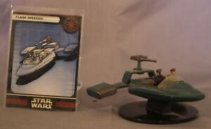Star Wars Miniatures Flash Speeder with Card