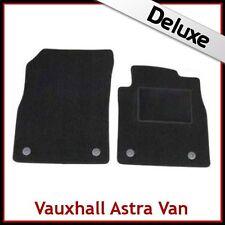 VAUXHALL ASTRA J Van 2009-2015 (310mm) Tailored LUXURY 1300g Carpet Mats BLACK