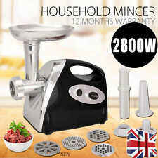 Heavy Duty Meat Grinder 2800W Stainless Steel Electric Mincer Sausage Maker
