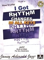 AEBERSOLD 047 I Got Rhythm (all 12 keys) Book/CD