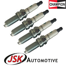 Champion Spark Plugs (x4) for 1.0 1.2 1.25 Hyundai i10 i20 Picanto Kia Rio MK3