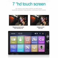 7'' Touch Car MP5 Player Stereo Radio 2 Din In Dash Bluetooth + car rear camera