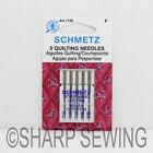 5PK SCHMETZ QUILTING SEWING MACHINE NEEDLES
