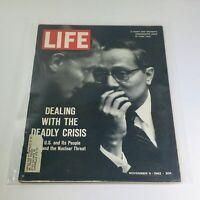 VTG Life Magazine: Nov 9 1962 - Dealing With The Deadly Crisis/Cuba Talk