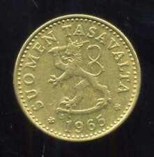 FINLANDE 10 pennia 1965