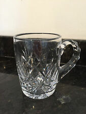 Cut Glass Beer Mug Tankard