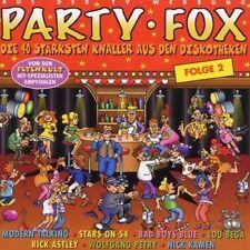Party Fox 2 (1999, BMG/Ariola) Modern Talking, Fancy, Ryan Paris, Hazel.. [2 CD]