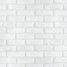 White Brick Look Contact Paper Decortive Wallpaper Self Adhesive Peel Stick