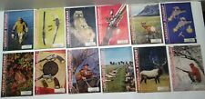 "1 Year-1960 ""The American Rifleman"" Magazine All 12 Issues Terrific Condition"