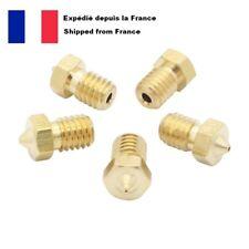 5x m6 nozzles v5 v6 0.4 1.75 nozzles printer 3d printer anycubic brass brass