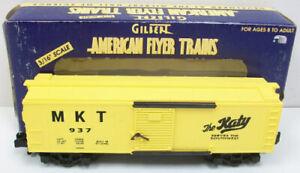 American Flyer 6-48332 S Scale Missouri Kansas Texas Boxcar LN/Box