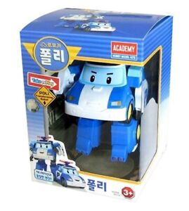 Robocar Poli Police Poli Robot Transformer Car Toy Figure Action Korean TV
