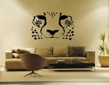 ik191 Wall Decal Sticker Decor African cheetah cat predator safari animal speed