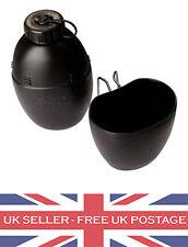 58 Pattern Black British Army Water Bottle Mug Cadet Camping Camp NATO Canteen