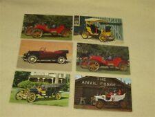 Vintage Car Service Reminder Postcards - Six (pkg5)