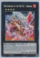 Yugioh Card - Brotherhood of the Fire Fist - Cardinal *SCR* MP14-EN031 (NM/M)