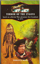 Doctor Who - Terror of the Zygons (=Loch Ness Monster). Blue spine Target books.