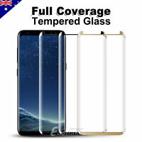 Full Cover Tempered Glass Screen Protector Samsung GALAXY Note 8 S8 Plus S7 Edge