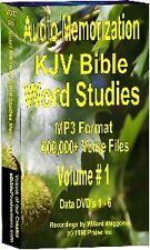 Audio Memorization of KJV Bible Word Studies MP3