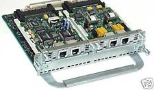 Genuine Cisco NM-2V VIC-2FXS VIC-2FXO Cards VoIP CCVP