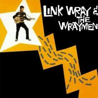 LINK WRAY & THE WRAYMEN - SELF TITLED CD ~ GUITAR ~ ROCKABILLY *NEW*