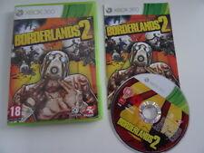 BORDERLANDS 2 - Jeu Microsoft XBOX 360 - COMPLET AVEC NOTICE