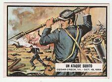 Topps A&BC Civil War News Gum Card Spain Spanish language printing #78