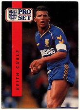 Keith Curle Wimbledon #239 Pro Set Football 1990-1 Trade Card (C363)