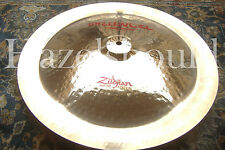 "SOUNDFILE! SUPER CLEAN EXOTIC ZILDJIAN ORIENTAL 18"" China TRASH Cymbal 1266 Gs"