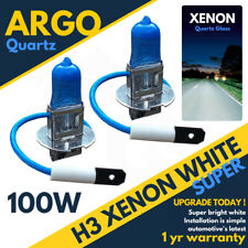 Vauxhall Astra Mk5/h H3 100w Super White Xenon Hid Front Fog Light Bulbs