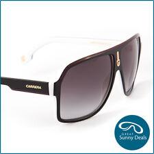 NEW Carrera 1001 Gloss Black White Grey Gradient (1001-80S) Sunglasses