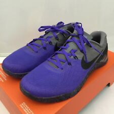 Nike Women Metcon 3 Persian Violet Black Cool Grey (849807-500) SZ US WMNS 9.5