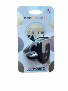 PopSockets Pop Mount 2 Car Vent Holder for Phone - Black