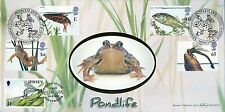 GB. FDC 2001 Benham  BLCS 210 Pondlife, Doubled with Jersey