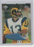 1999 Collectors Edge Kurt Warner Rookie #123 Los Angeles Rams Original Modern