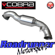 Cobra Mini Cooper S R56 Sport Cat Exhaust Downpipe Stainless - Hi Flow 200 Cell
