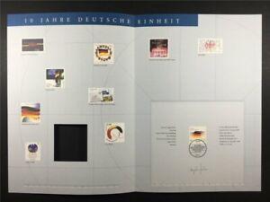 GERMANY ART-EDITION 2000/35 2142 DEUTSCHE EINHEIT FLAGGE FLAG UNISSUED DRAFTS!!