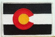 COLORADO Flag Patch with VELCRO® brand fastener Military Emblem #8