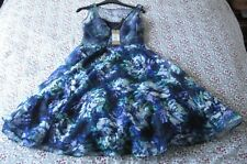 COASTperlia floral dress. New+tag, Size 8,multi layer,Originally £175,length 40""