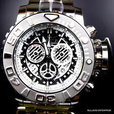 Invicta Sea Hunter III Black 70mm Full Sized Swiss Steel Chronograph Watch New
