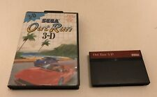 Out Run Outrun 3-D 3D Sega Master System Boxed PAL Rare